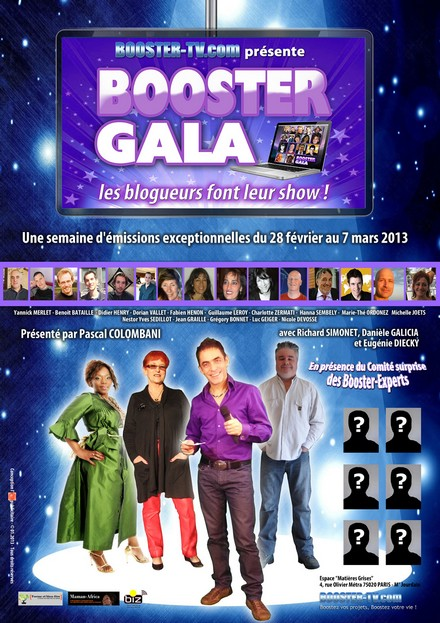 affiche Booster-Gala